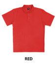 taxa-plain-polo-red
