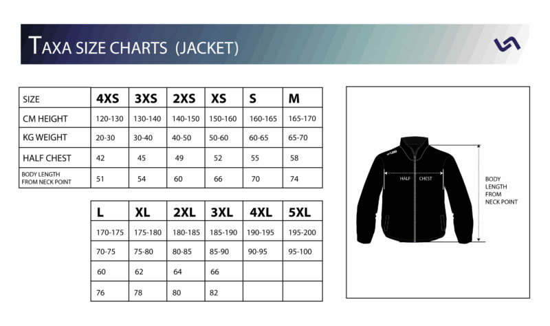 jacket-size-charts